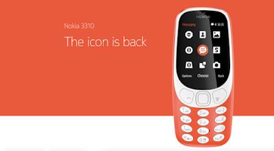 Nokia 3310 2017 model
