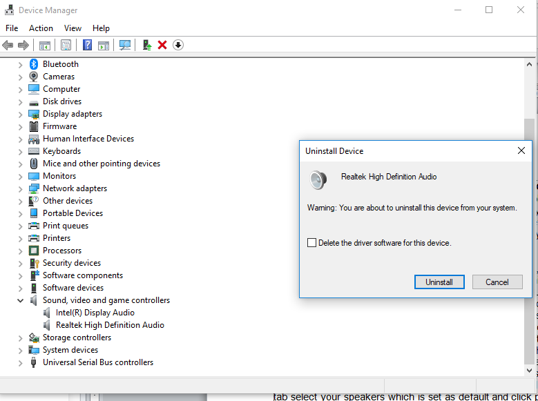 Look at The Windows: How to fix 'No Audio Output Device is