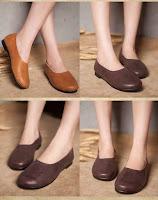 สวยลุคอินเทรนด์ด้วยรองเท้าหนังแท้เพื่อสุขภาพดีไซน์แฮนด์เมดใหม่ล่าสุดสำหรับทุกวัย