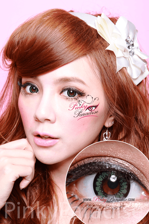 Geo-Angel Green Circle Lenses (Colored Contacts)