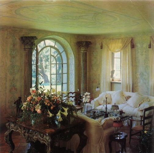 Introir Dijane: Eye For Design: Old World Interiors ......Diane Burn Style