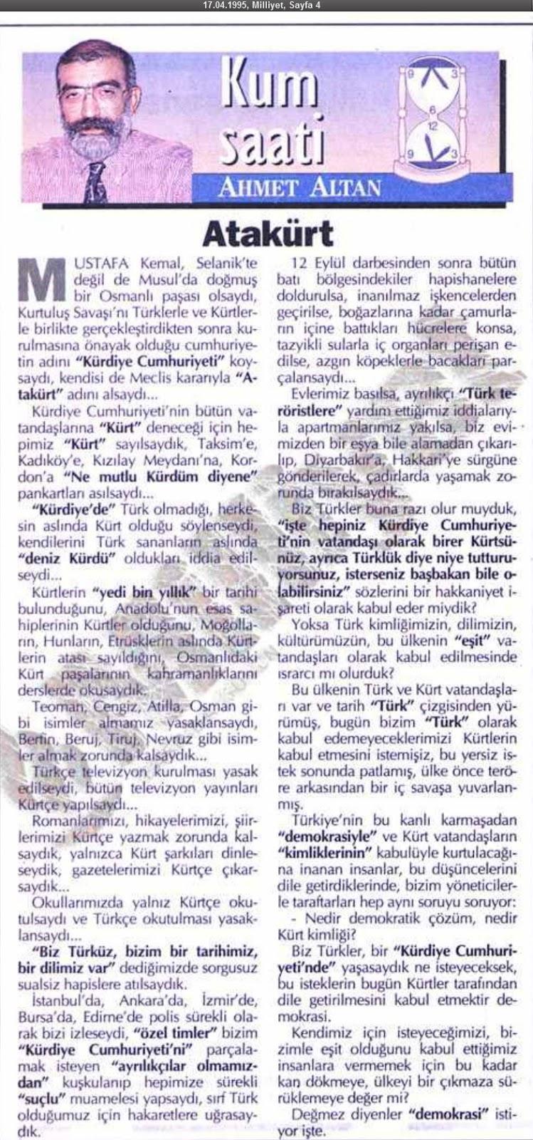 Ahmet Altan: Bugün Atatürkü Arar Hale Geldik 2