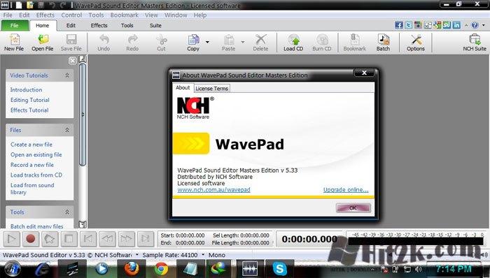 wavepad 8.44 serial key