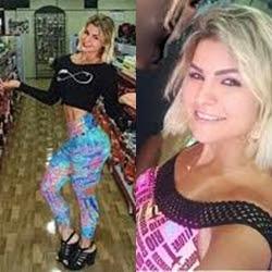 Vídeo amador da vendedora caiu na net metendo os dedinhos na bucetinha rosadinha