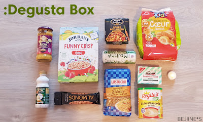 Unboxing DegustaBox Janvier