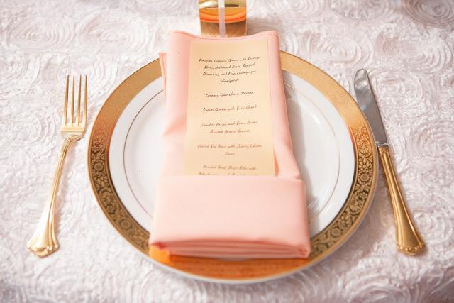 peach+orange+salmon+pink+pastel+shabby+chic+summer+spring+tea+garden+party+victorian+rebel+with+a+camera+wedding+bride+groom+centerpeice+cake+ruffle+ruffles+12 - Detail Spotlight: Peach & Gold