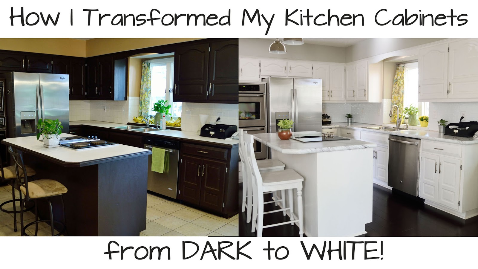 Ashley\u0027s Green Life: How I Transformed My Kitchen Cabinets from ...