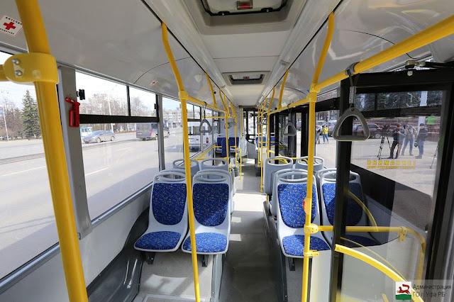 В Уфе появился троллейбус на автономном ходу