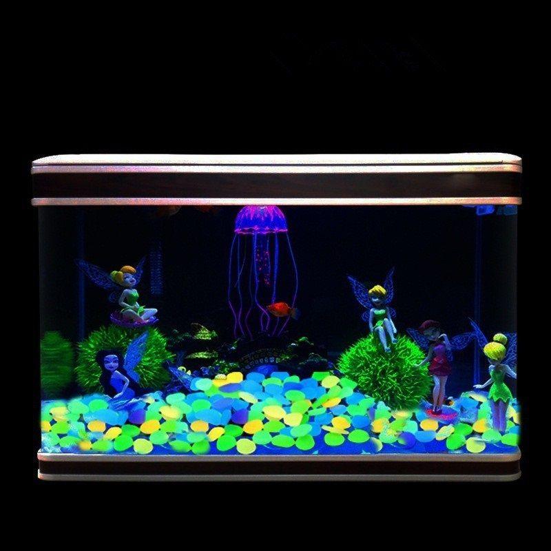 Gambar Aksesoris Aquarium Batu Hias Murah-Batu kelereng bersinar