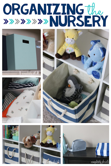 Nursery Organization: closets and dressers