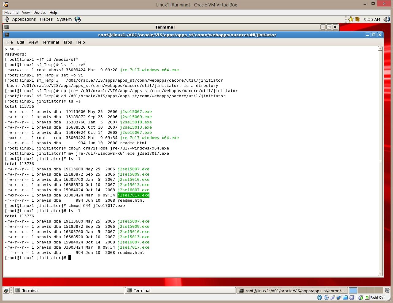 oracle jinitiator download for windows 7 64 bit