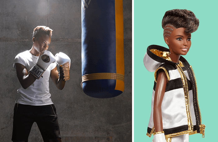 Barbie Introduces 17 New Dolls Based On Inspirational Women Such As Frida Kahlo And Amelia Earhart - Nicola Adams Obe, Boxing Champion