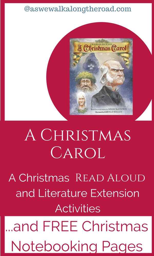 Literature extension activities for A Christmas Carol #homeschooling #Christmas #literature