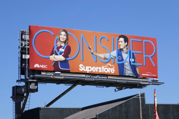Consider Superstore 2018 Emmy billboard