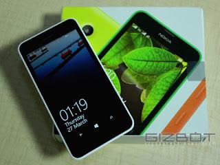 Lumia 630 with box