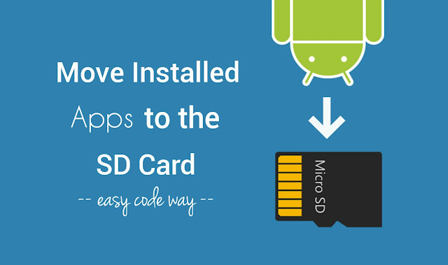 Move apps to the SD Card