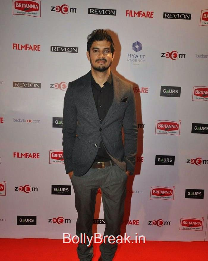 Tahir Bhasin, 60th Britannia Filmfare Awards pre-awards Party 2015 Red Carpet Pics