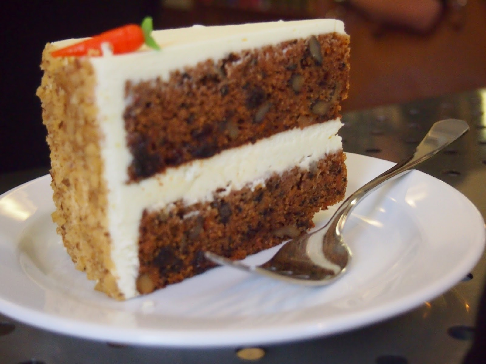 carrot cake from the bake shop