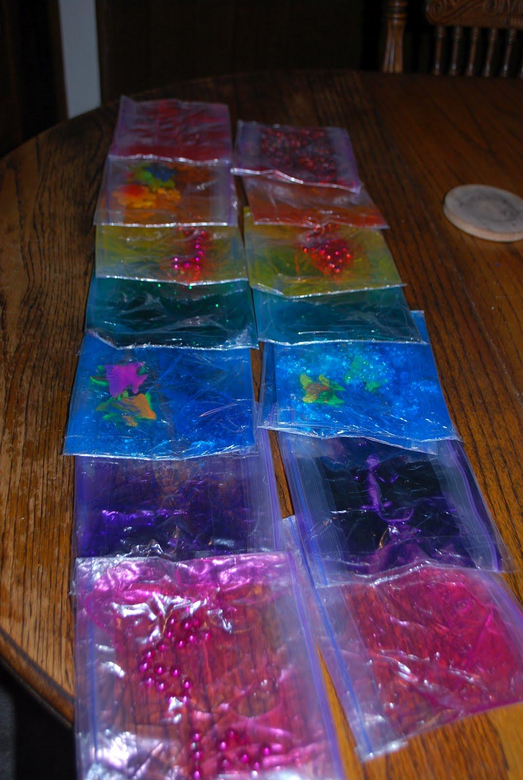 Laguna Preschool Curriculum Sensory Bags