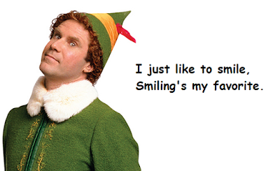 """Quotes From Elf: About Smile"""