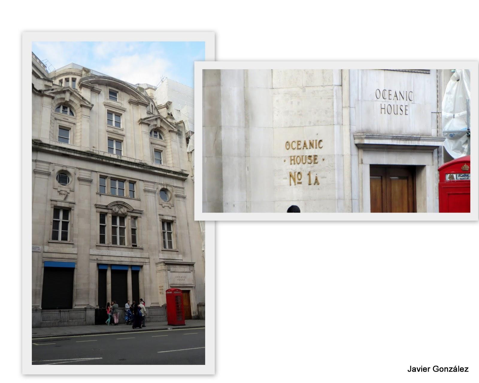 Londres. OFICINAS DEL TITANIC