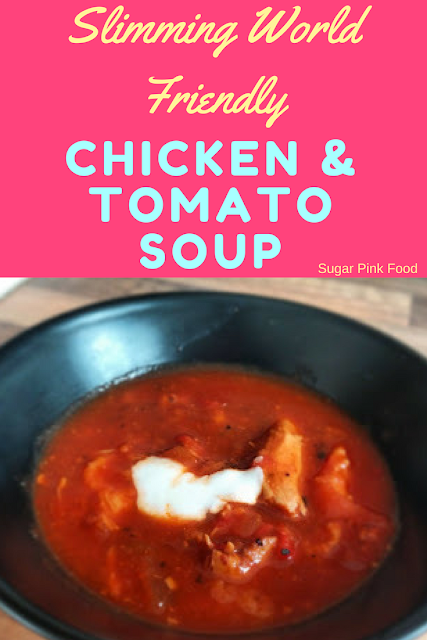 Italian Chicken & Tomato Soup  slimming world recipe