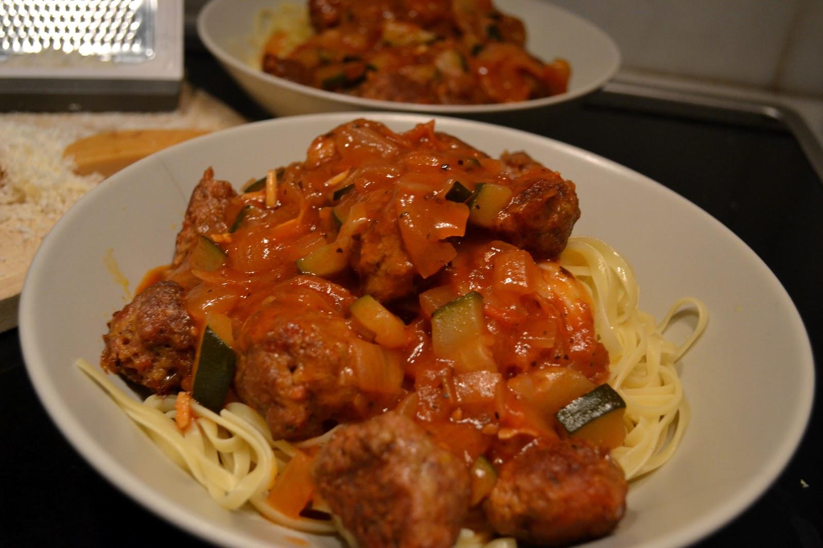BarceloNenas on a budget: Spaghetti with Spicy Chorizo ...