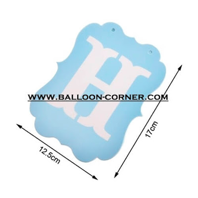 Bunting Banner HAPPY BIRTHDAY Warna Biru