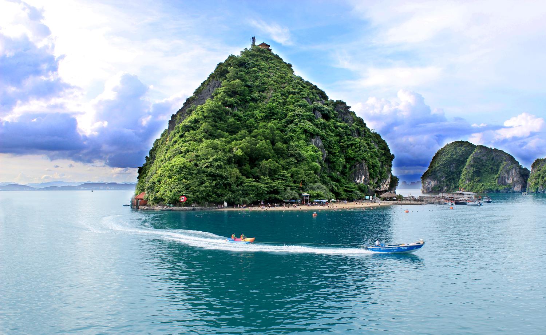 Isla de Ti Top, Bahía de Halong (Vietnam)