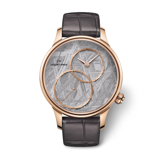 "Jaquet Droz Grande Seconde Off-Centered ""Meteorite"" 39mm"