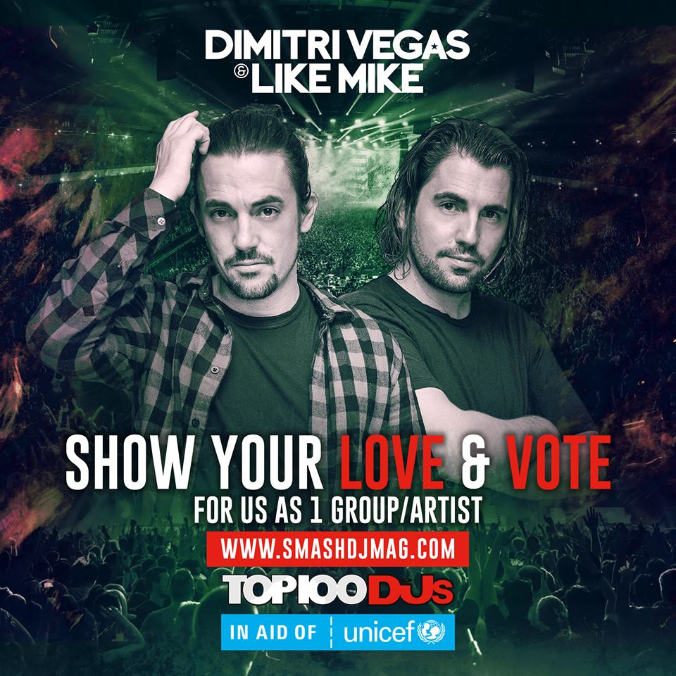 DIMITRI VEGAS AND LIKE MIKE FOR DJ MAG TOP 100 DJS