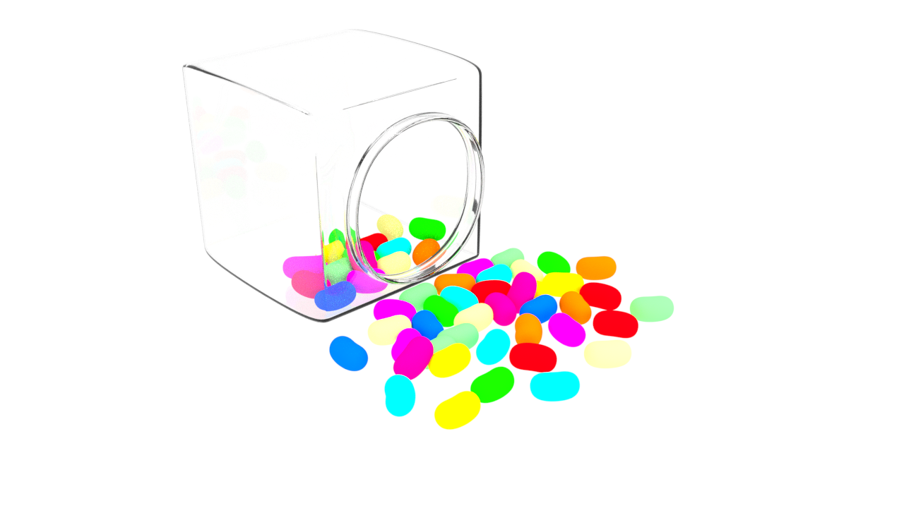 Free 3D Candy Jar .blend