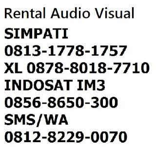 rental handycam harga murah Jakarta