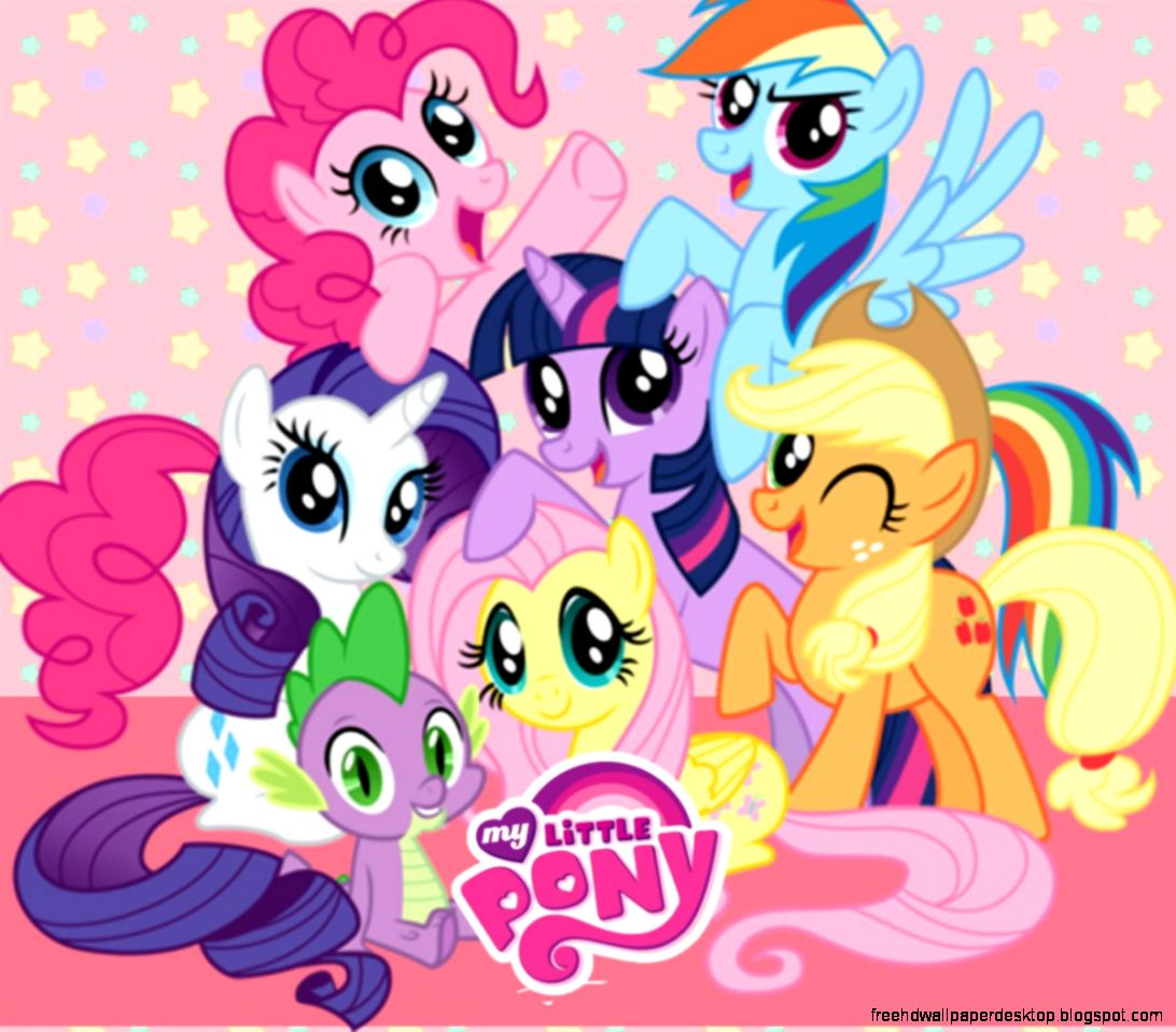Cartoon My Little Pony Hd Wallpaper Free High Definition Wallpapers