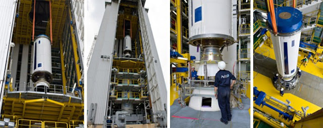 Diaporama montage lanceur fusée Ariane
