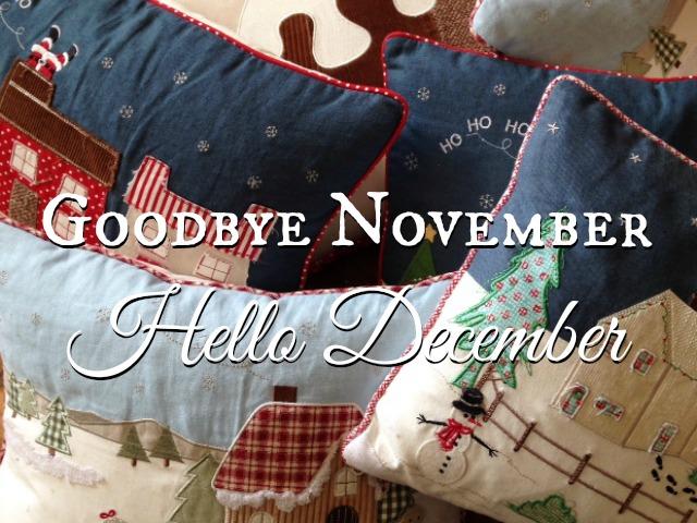 Bedn Goodbye November And Hello December Ladybug Home And Designs