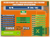 Aplikasi Perhitungan Tatap Muka dan Slip Gaji Guru Honor | Unduh File Free