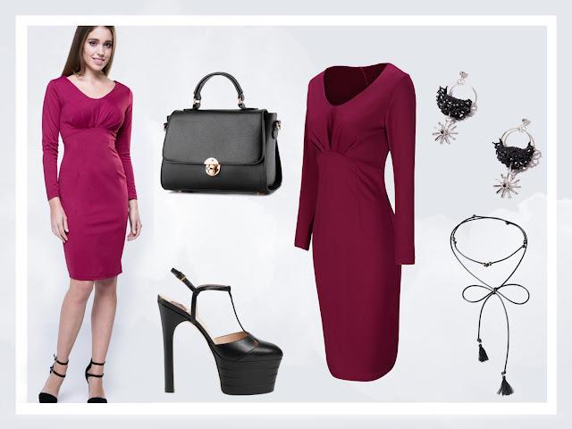 fashion dress january girl blogger