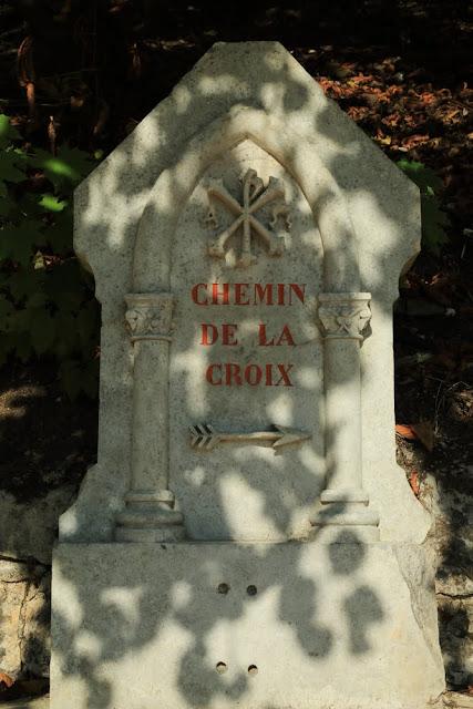 Way of the cross. Standing. Rocamadour. France. Крестный путь. Стояния. Рокамадур. Франция.