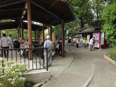 城北菖蒲園の売店