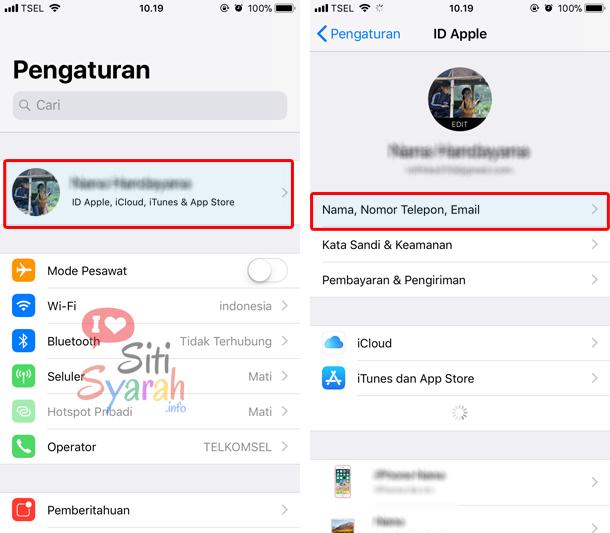 cara aktifkan iMessage di iPhone