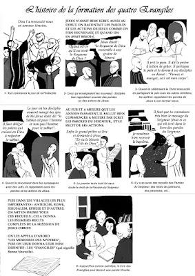 L'HISTOIRE DE LA FORMATION DES 4 ÉVANGILES