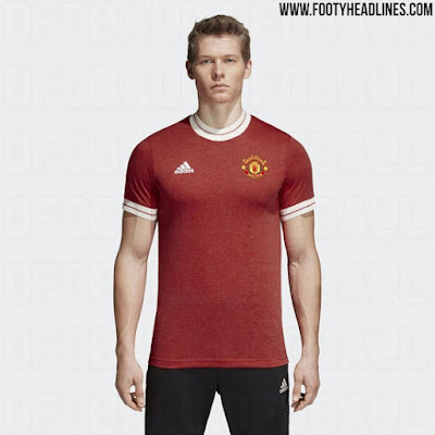 Manchester United 2018 Adidas Retro Kits