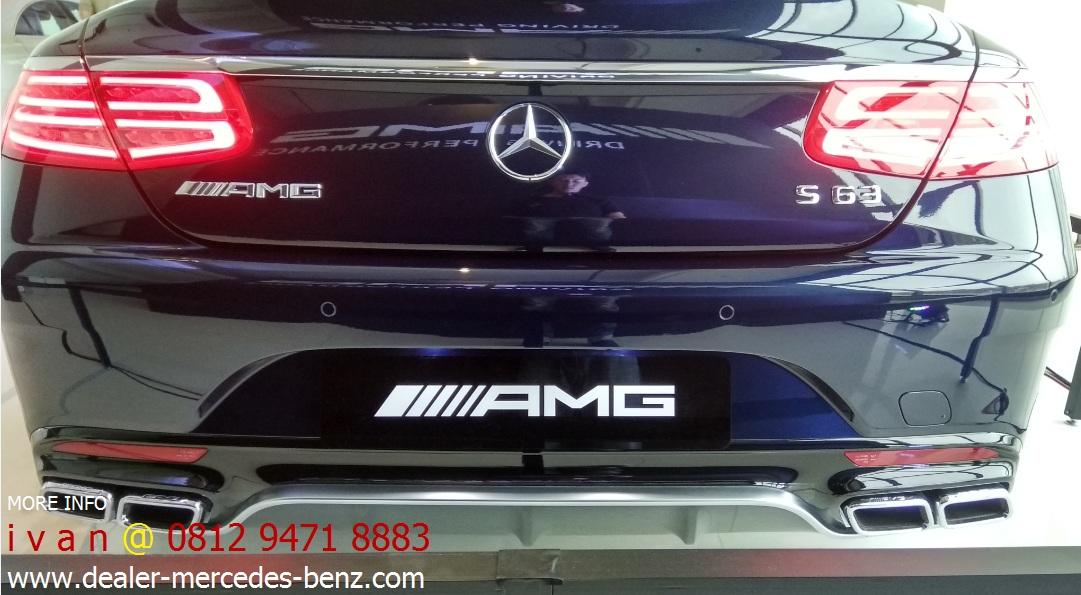 Promo mercedes benz s class s63 amg coupe 2016 indonesia for Mercedes benz service b coupons