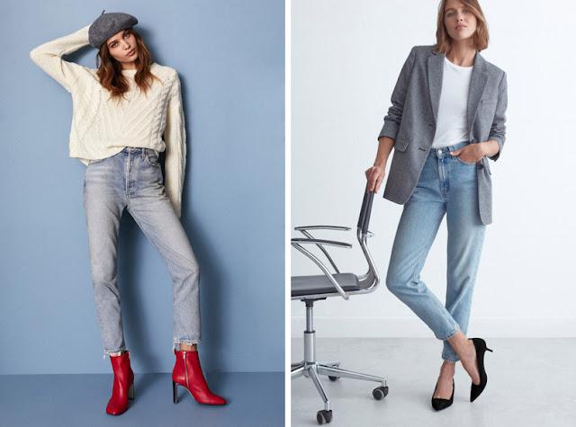 Девушки в прямых джинсах бойфрендах