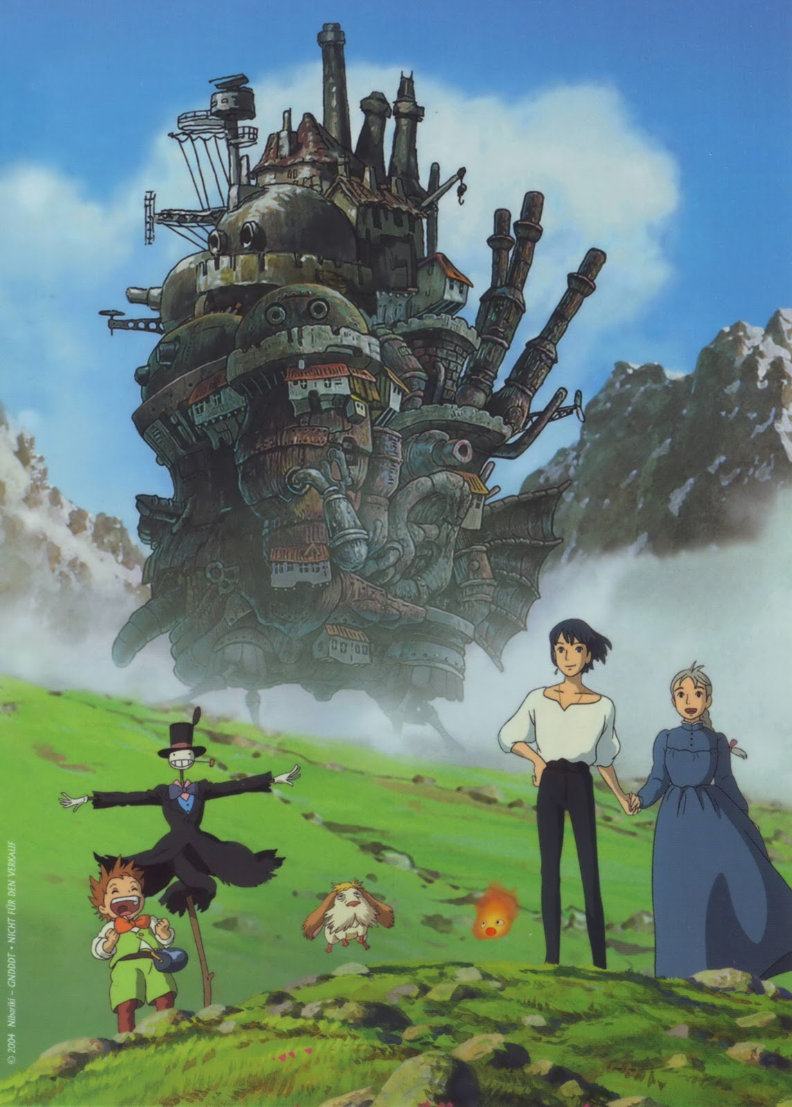 Living Lines Library: ハウルの動く城 / Howl's Moving Castle (2004 ...  Living Lines Li...