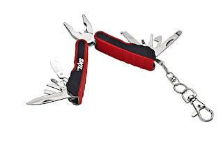 Mini multi tool keychain