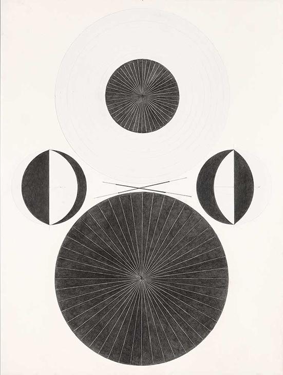 drawing Patrick Gabler Drawing Series III, Nr. 8, 2014