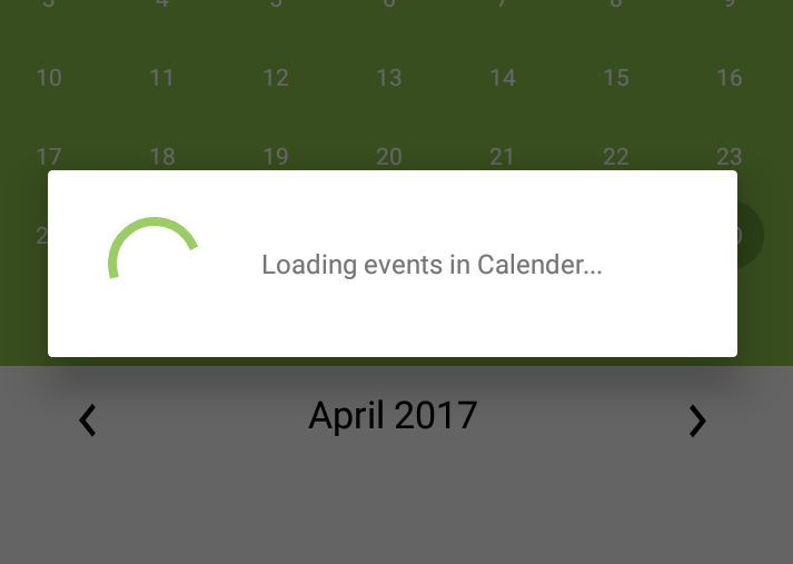 How to show loading dialog or Loading spinner in Android - SpartaCode