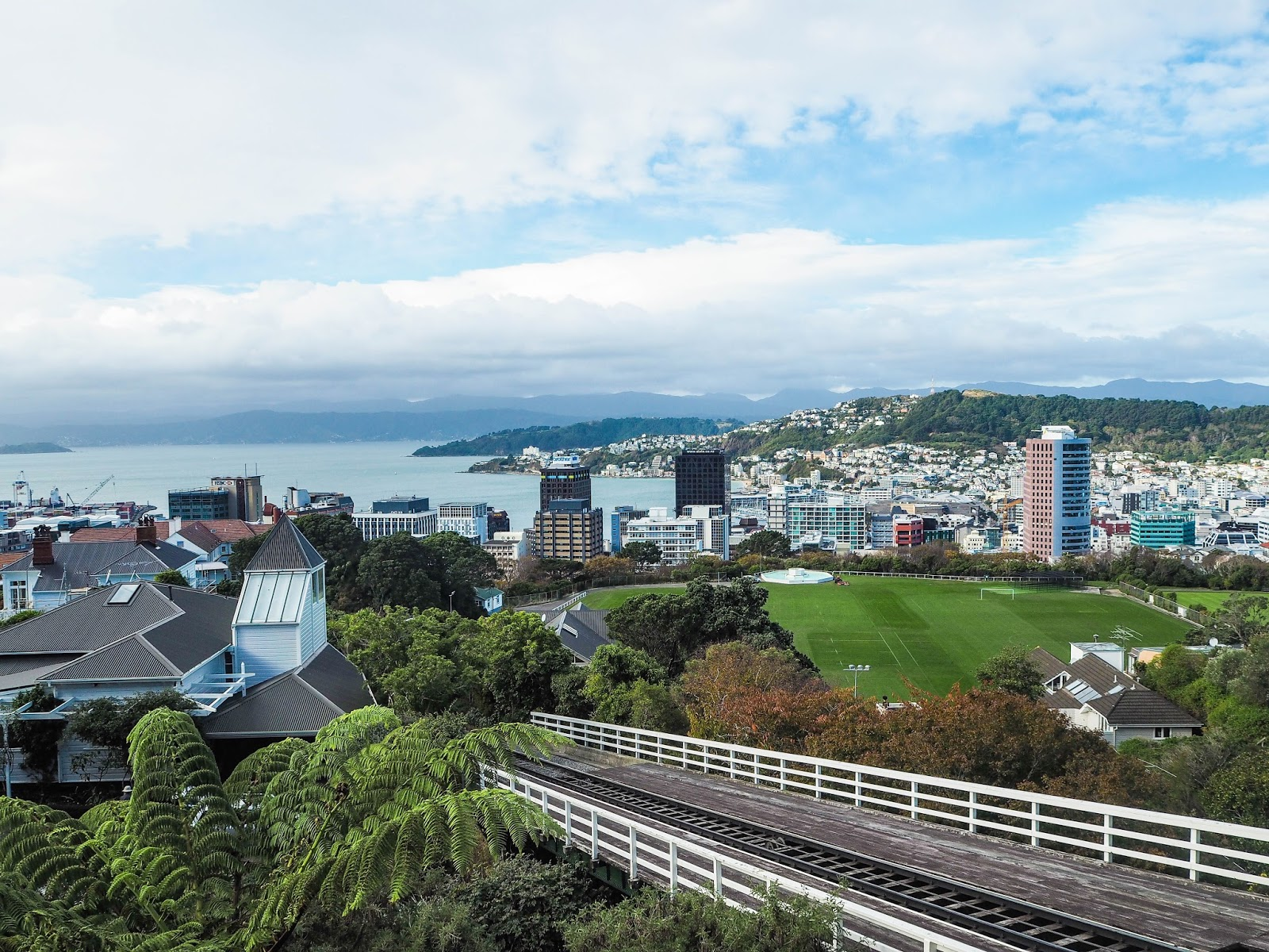 View over Wellington, New Zealand
